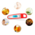 Folding probe digital bbq food thermometer meat thermometer