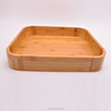 Eco-friendly bamboo coffee/Tea serving tray for cup holder