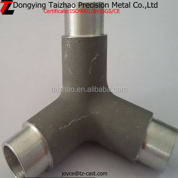 Aluminum pipe fittings reducing tee & Aluminum Pipe Fittings Reducing Tee - Buy High Pressure Y Pipe ...