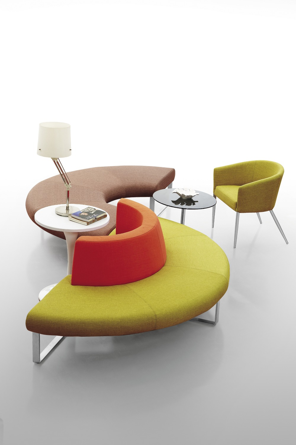 Colorful Office Furniture Modern Combination Fabric