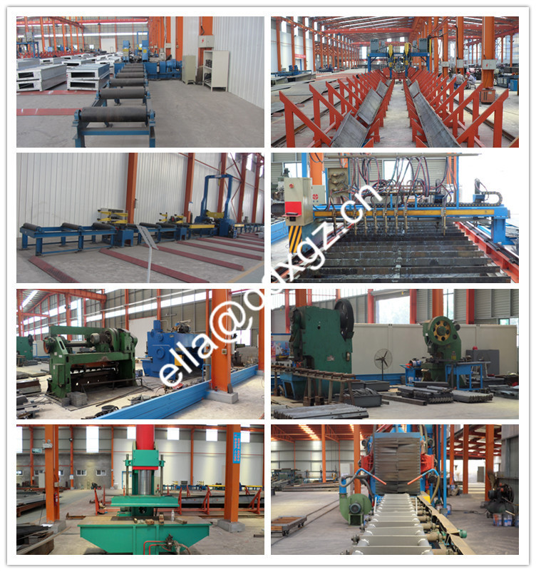 Prefabricated light steel structure warehouse insulation