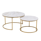 Cheap wholesale european style home hotel furniture coffee table base gold legs, steel metal white round coffee table sets