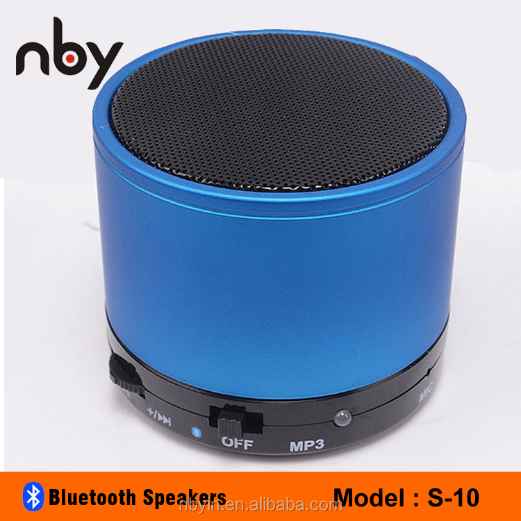 2017 Cheap Wholesale Bluetooth Speaker <strong>Mini</strong> Portable For Promotion Gift Colorful Design 3W Hifi Active Speaker For Mobile S10-M