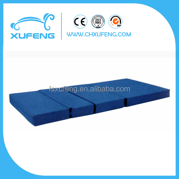 3 folding waterproof medical mattress for hospital use