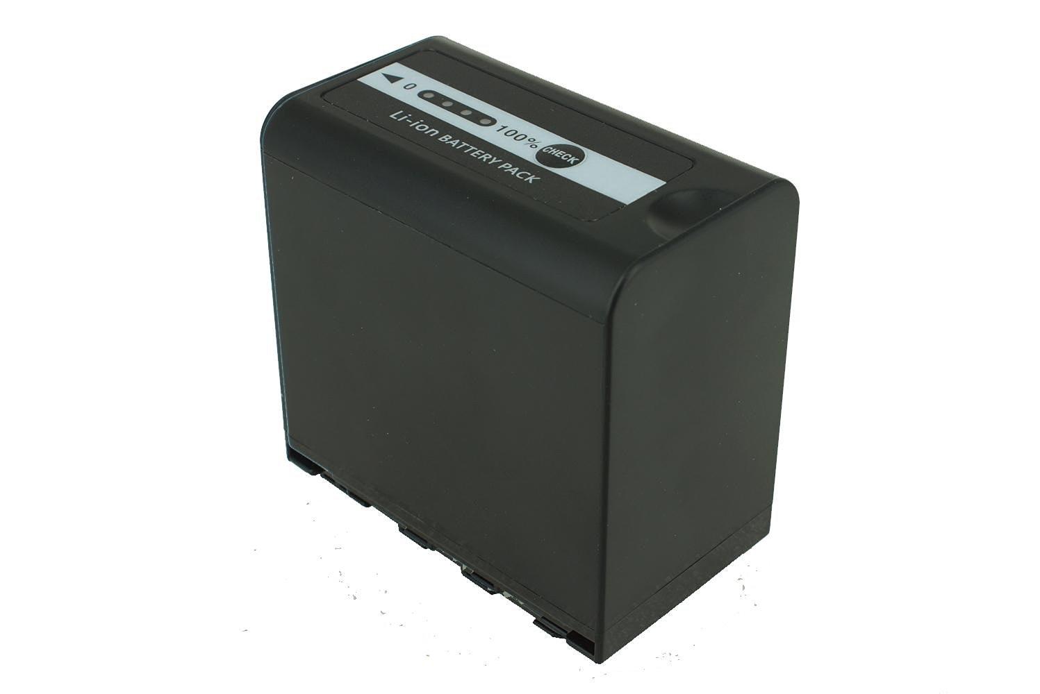Camcorder Battery Pack For Panasonic VW-VBD58 [7.20V 6600mAh 47.5Wh]