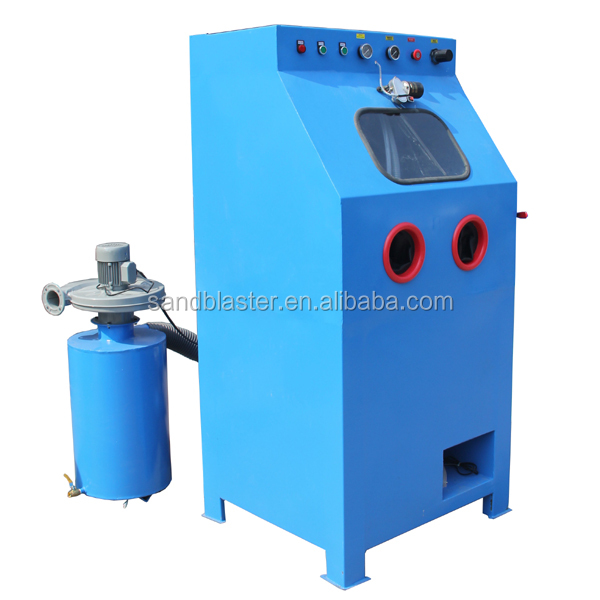 COLO-9080W industrial dustless sand blasting cabinet