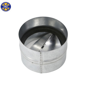 Galvanized Sheet Metal Butterfly Ducting Backdraft Damper for HVAC System