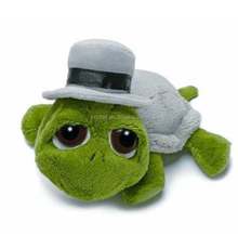 Peepers Groom Turtle Soft Plush Toy plush tortoise toy tortoise sea animal soft plush stuffed toy with hat
