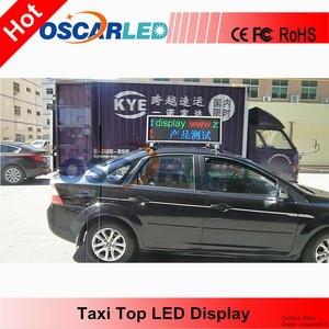 Alibaba International Hot Recommend HD Taxi Top Screen