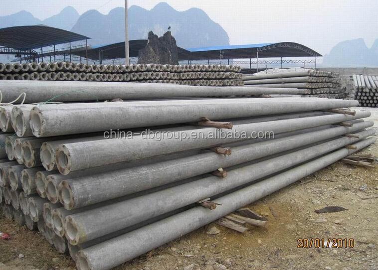 Conduit In Concrete Pole : Centrifugal concrete pole making machine cement casting