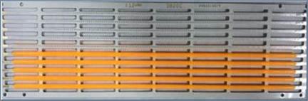 China supplier LED light Flexible Filament 130*1.2mm FPC 200-250LM Cri90 10mA 260-270V Sanan chip