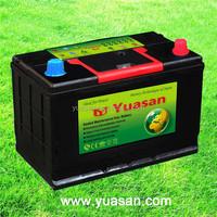 Direct Factory 12V Battery 70AH Korea Designed Calcium Lead Acid MF JIS Car Battery --65D31LMF