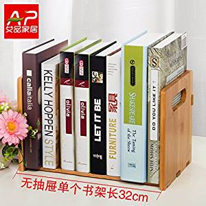 Get Quotations · Freestanding Book Shelf / Desk Top Organization, Table  Little Bookshelf Racks,scalable Small Desk