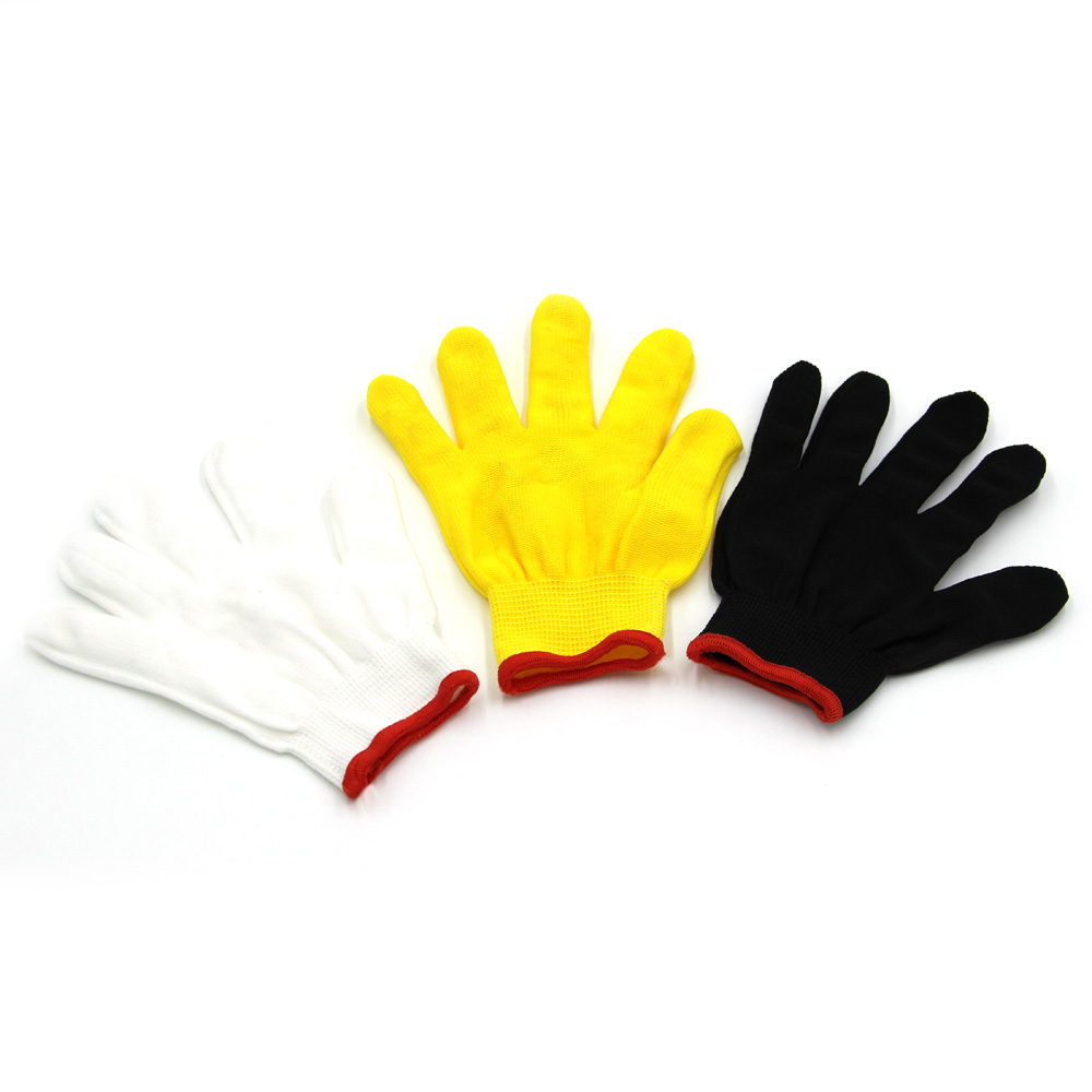 China Supplier Working Cotton Glove Protective White Hand Gloves