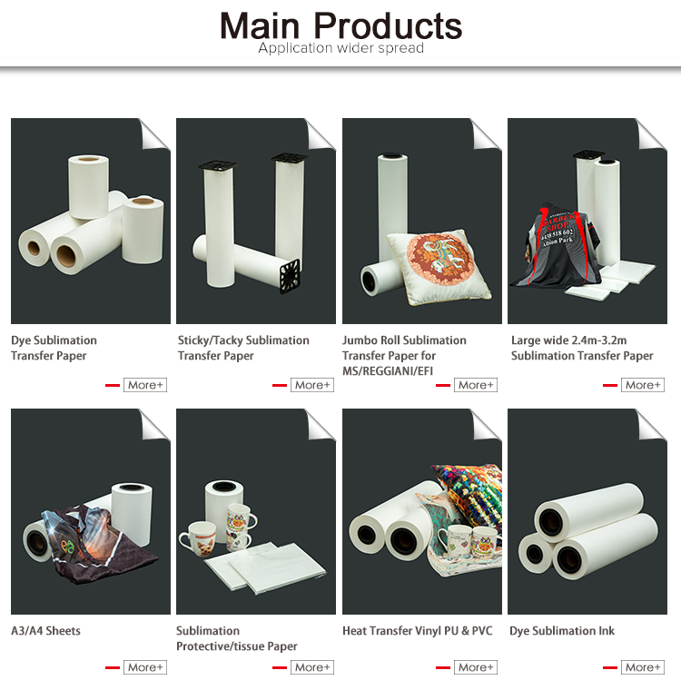 High quality sublimation paper wholesale sublimation printing