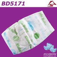 Good Absorbtion Japan SAP Disposable Economic Baby Diaper Manufacturer from China