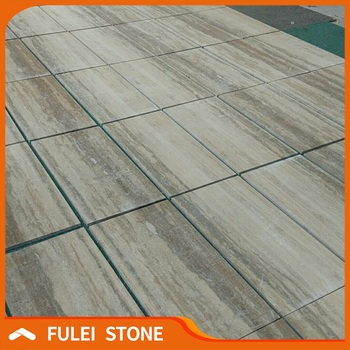 Honed Italian Silver Wood Grain Grey Travertine Marble Stone Floor Tiles Buy Silver Grey Marble Floor Tilesitalian Marble Stone Flooring Tilehoned