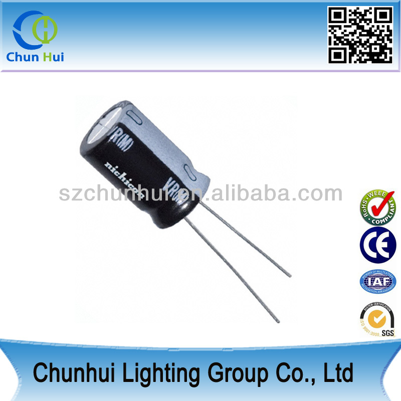 50V 1UF electrolytic capacitor passive component