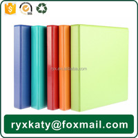 office & school supplies a4 pvc thin leather 3 ring binder