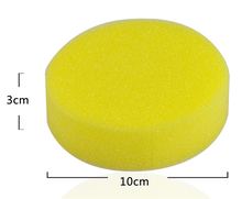 Manufacturers production Environmental protection car caring products waxing foam sponge polishing Wax Applicators Pads