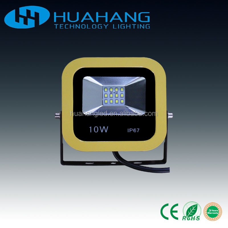 Zhongshan led flood lighting new type lighting yellow edge housing