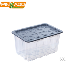 60L Eco-Friendly Customized Plastic Cube Storage Boxes