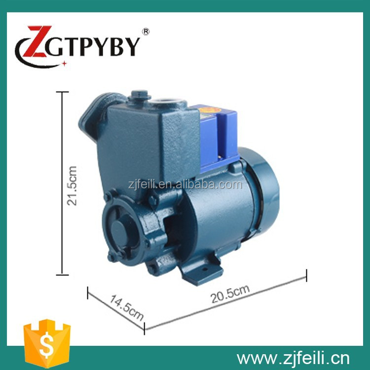 2015 New Products Household GP Self-priming Votex Booster Pump with Factory Price