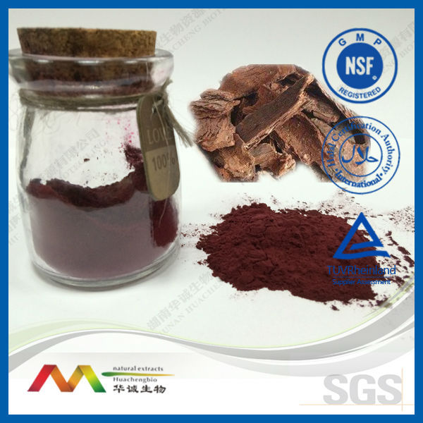 Natural Plant Extract GMP&ISO Supplier Pine Bark Powder 95% OPC