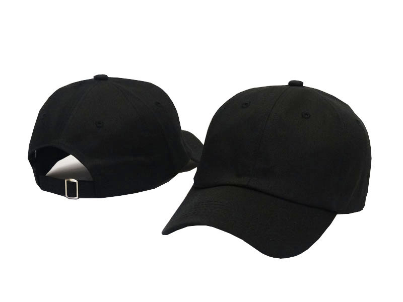 7c2b1869 Black White Pink Plain Dad Hat Strapback Cotton Summer Blank ...