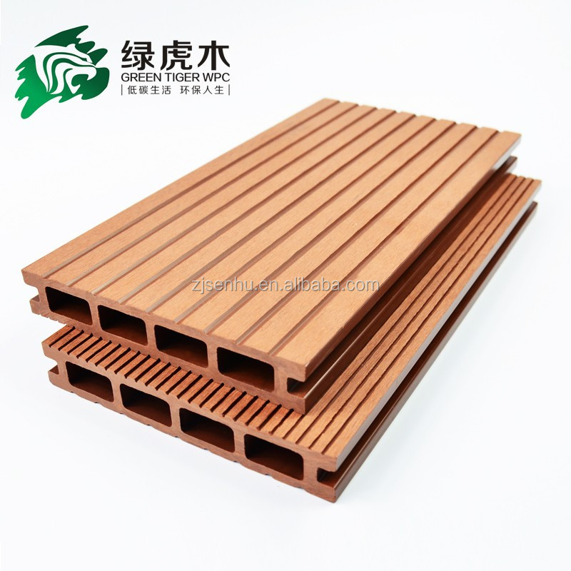 WPC decking manufacturer / wood plastic composite decking board / WPC factory in China