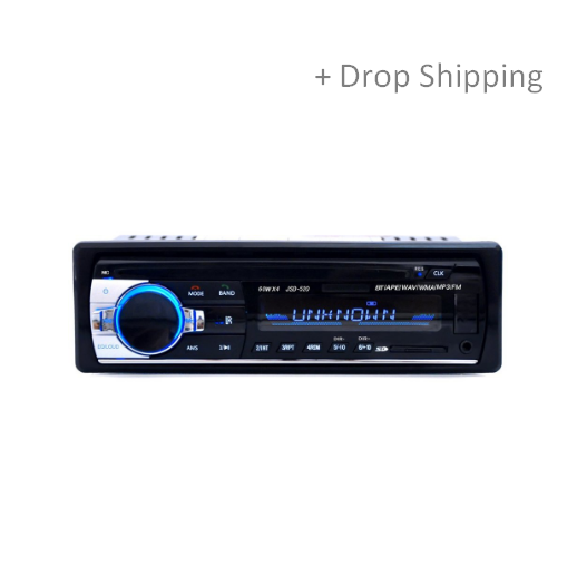 Bluetooth Stereo Radio MP3 Audio Player for Automobile
