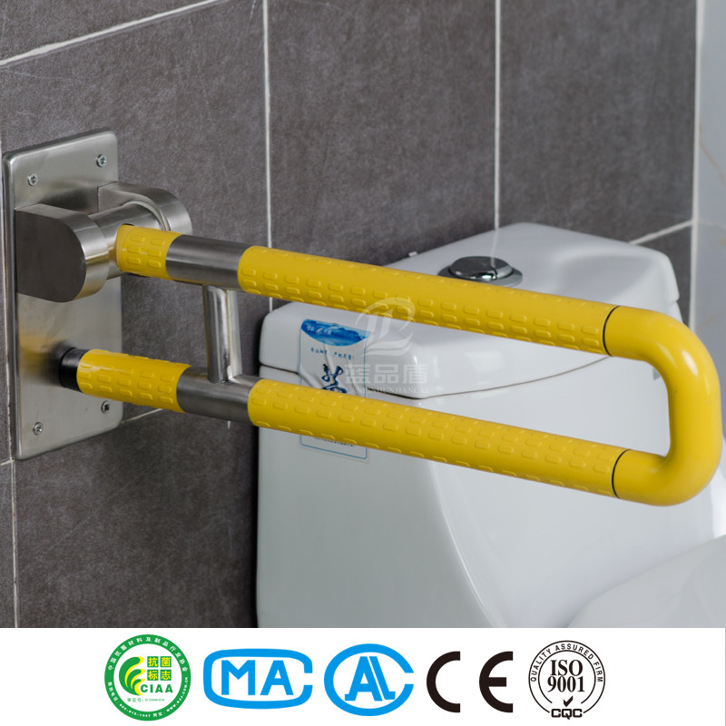Anti-bacterial and anti-corrosion ABS nylon toilet rails for handicapped