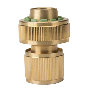 Factory High Quality Pipe Fittings Brass Tap Adapter Screw Coupling Garden  Hose Quick Connector