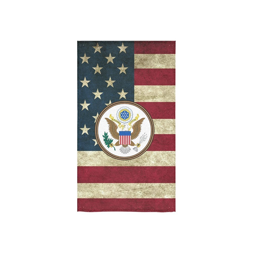 """Christmas/Thanksgiving Gifts US Army Veteran Military Thin Soft Towel 16""""x28""""(One-sided Printing)"""