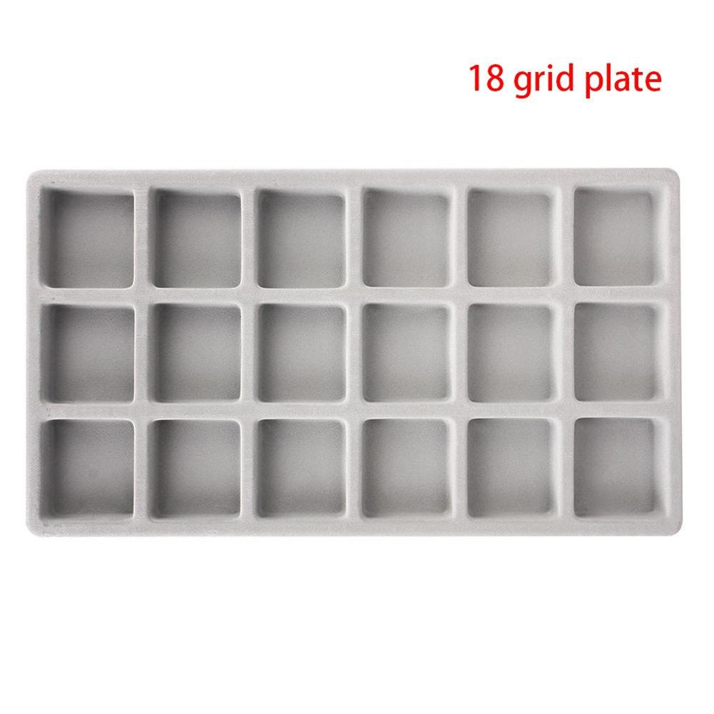 Bead Storage Containers 18 Grid Beading Storage Board Tray Design DIY Craft Tool
