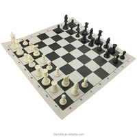 Tournament heavy cheap chess set pieces outdoor chess game