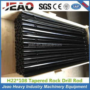 H22 Hot Sale Rock Drill Rod/Taper Mining Rock Drill Rod/Taper Shank Rock Drill bit