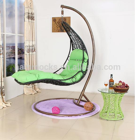 Price Outdoor Garden Rattan Wicker Hanging Swing Chair Indoor Egg Basket With Stand