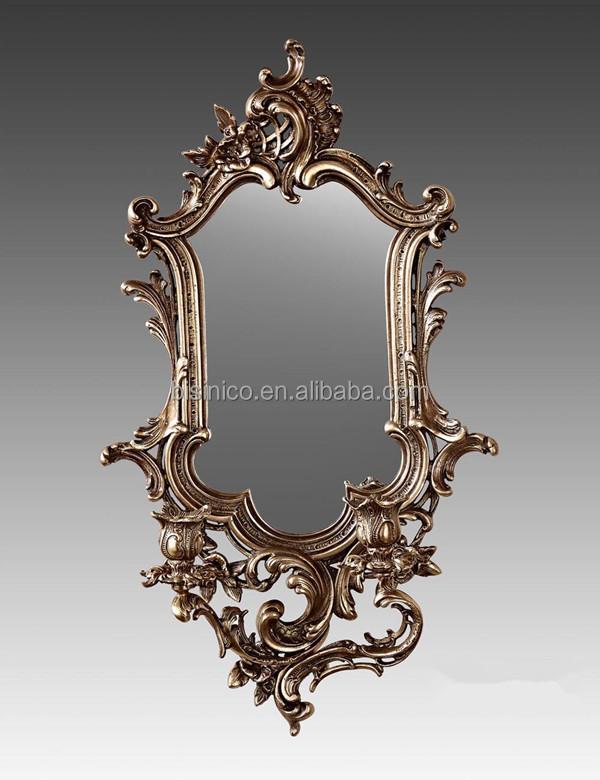 Antique Wall Mirrors antique french bronze frame wall mirror,unique design decorative