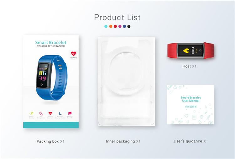 S9 Smart Bracelet Wristband IP67 Waterproof Blood Pressure Oxygen Monitor  Heart Rate Smart Bracelet Fitness Tracker, View fashion bracelet, OEM