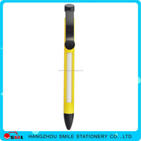 plastic window ball pen with overflow 4 space