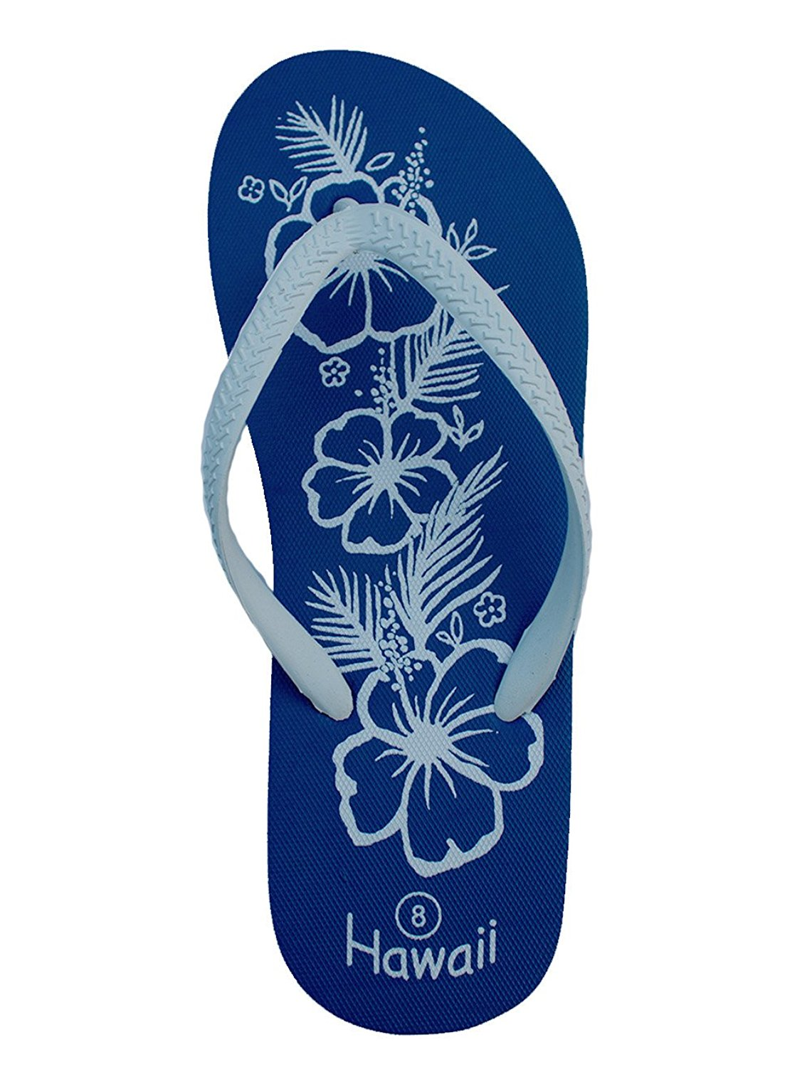 db48ebcc1 Get Quotations · Imperial Sandals Hawaii Women and Girls Royal Blue Hawaii  Slipper Sandals Flip Flops
