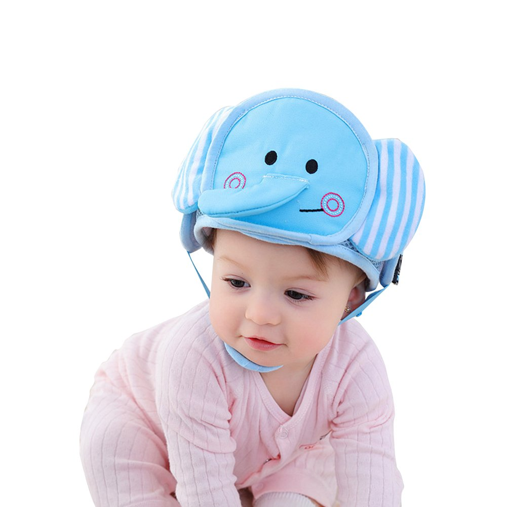 83654a4b280 Get Quotations · Per Baby Head Protector Helmet Lovely Cartoon Animal Shape Safety  Head Guard Cushion With Adjustable Straps