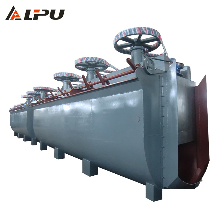 Gold Mining Equipment Froth Flotation Machine Cell with Auto Air Suction and Auto Pulp Suction