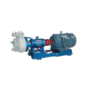 FZB Lined-in Fluorine Plastics Industrial Horizontal Centrifugal Slurry Chemical Self-Priming Pump