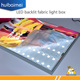 Indoor outdoor LED backlit advertising light box signs