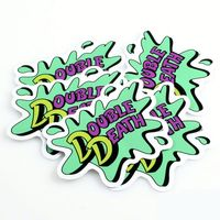 custom bicycle decals sticker Die Cut Vinyl Sticker Full Color Printing Vinyl Sticker Manufacturer ---DH21310
