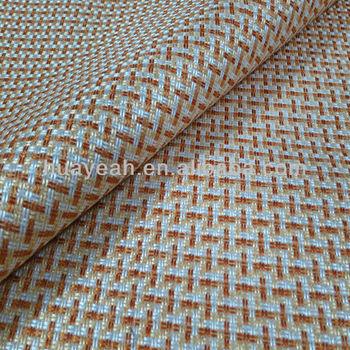 Yellow Geometric Pattern Upholstery Fabric For Sofa Buy Jacquard