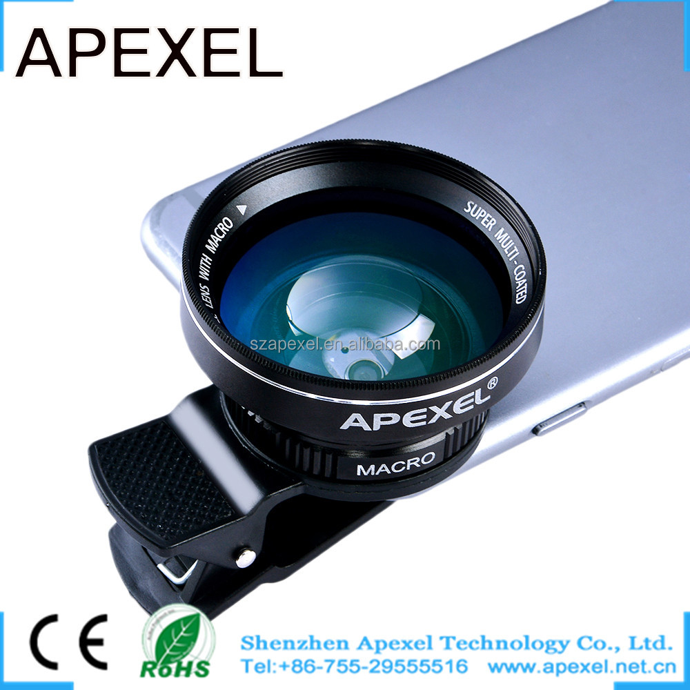 mobile camera lens wide angle for samsung s6 edge plus high ended HD phone lens