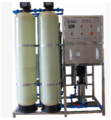 Borehole salty water to drinking water machine, Salt water treatment system